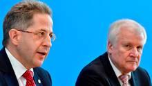 Hans-Georg Maaßen und Horst Seehofer und die Koalitionskrise