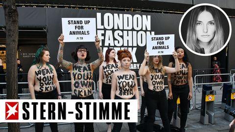 Bei der London Fashion Week im Februar gab es noch Proteste von Peta-Anhängern, nun will die Modewoche in der britischen Hauptstadt komplett auf Echtpelz verzichten