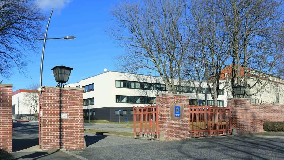 Der Campus der Fachhochschule der Polizei in Aschersleben (Archivbild)
