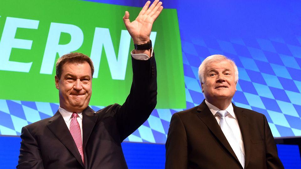 Markus Söder und Horst Seehofer