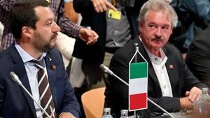 Jean Asselborn beäugte schon kurz vor seinem Ausbruch Salvini misstrauisch