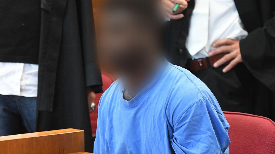 Der Angeklagte im September 2017 vor Gericht