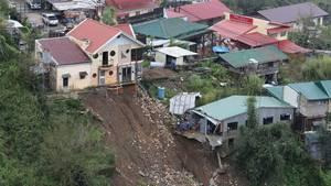 """Mindestens 25 Tote und große Sachschäden - das ist bisherige Bilanz von Taifun """"Mangkhut"""" auf den Philippinen."""