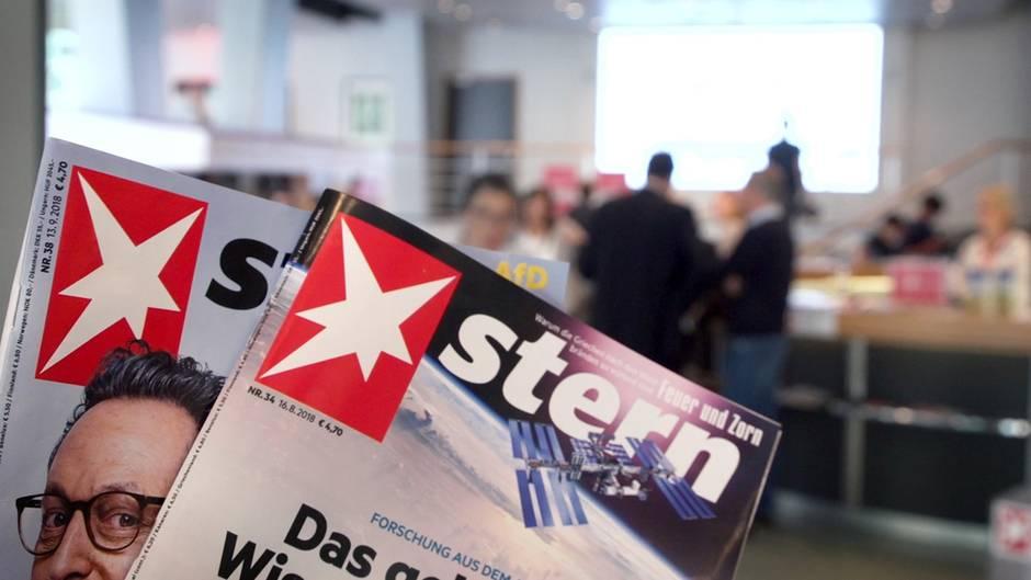 Tag des Journalismus: 1000 Besucher feiern 70 Jahre stern
