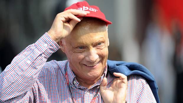 Niki Lauda hat aktuell mit schweren gesundheitlichen Problemen zu kämpfen