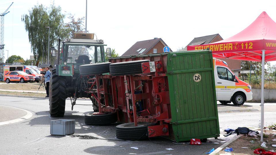 Nachrichten aus Deutschland: Unfall in Swisttal-Heimerzheim