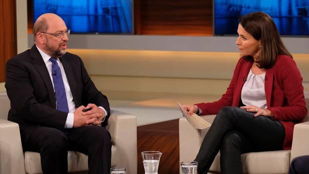 Martin Schulz bei Anne Will