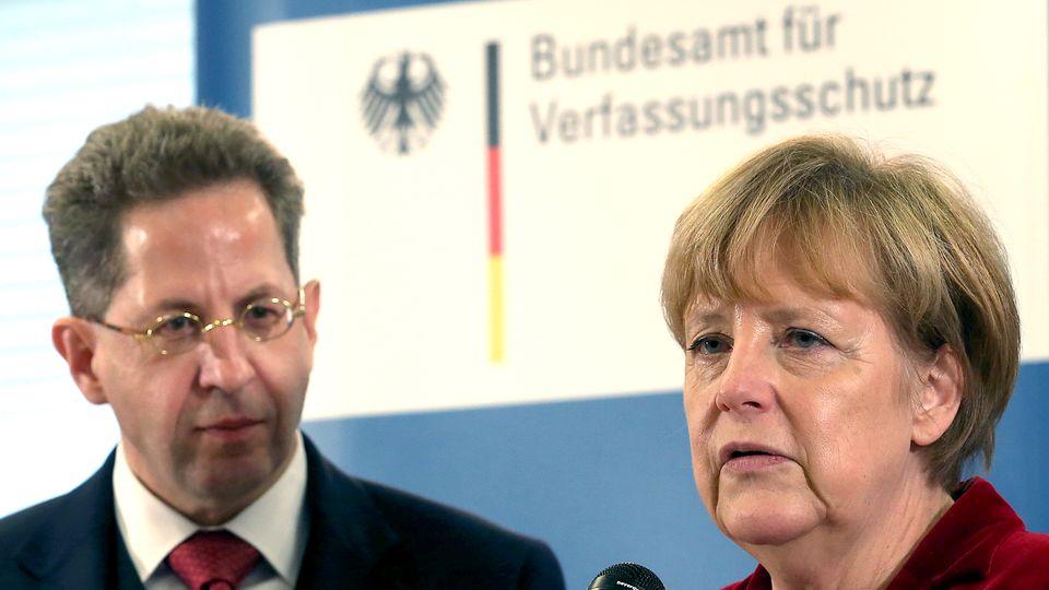 Kanzlerin Merkel glaubt, dass die Koalition wegen Maaßen nicht zerbrechen wird