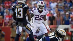 Vontae Davis (m.) von den Buffalo Bills