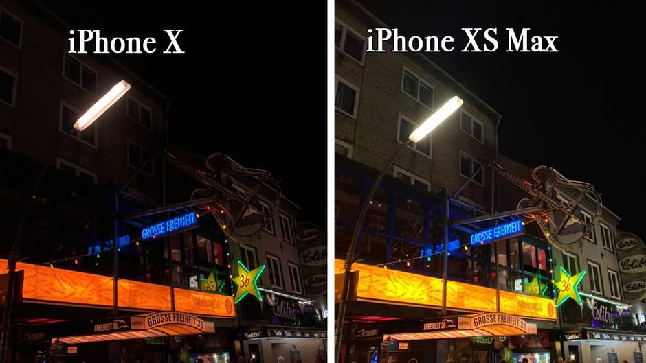 Low-Light-Aufnahmen profitieren enorm vom neuen Kamerasystem des iPhone XS