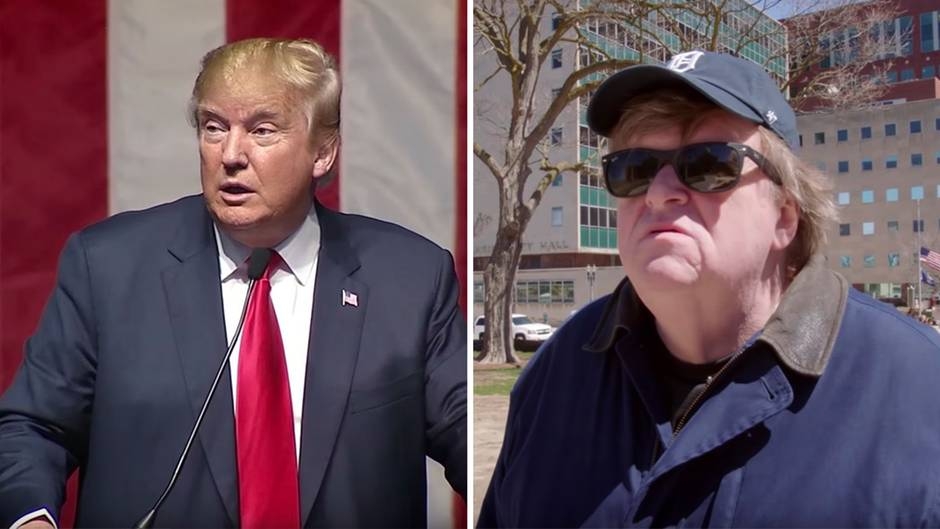 """Kinotrailer: """"Der letzte Präsident der USA"""" – Michael Moores neuer Film ist eine Kampfansage an Trump"""