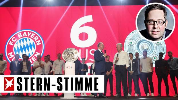 Seit 2013 ist der FC Bayern München jedes Jahr Meister geworden, feierte im Sommer den sechsten Erfolg in Folge