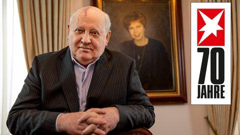 Michail Gorbatschow 70 Jahre stern