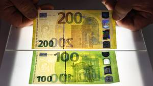 Neue 100 Euro Scheine