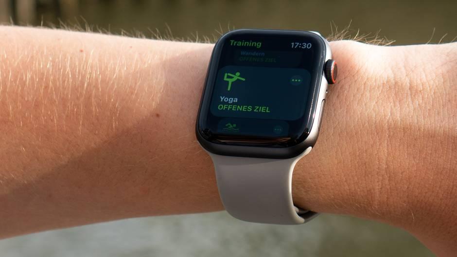 Mit watchOS 5 kommt die neue Yoga-App