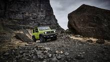 Suzuki Jimny 1.5 - fühlt sich im Gelände sehr wohl