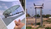 Astronomische Kosten für Busbahnhof: In Leverkusen entsteht derzeit ein neuer Busbahnhof. Das futuristische Bauwerk soll der ganze stolz der Stadt werden. Das geplante Dach erinnert dabei nicht nur an ein Ufo, auch die Kosten steigen in astronomische Höhen. Mit satten 3,5 Millionen Euro soll es den Steuerzahler nun fast doppelt so viel wie ursprünglich geplant kosten. Dabei stehen bislang immernoch nur die ersten Pfeiler. Was sagen Planer, Politiker und Bürger der 160.000-Einwohner-Stadtzu dem Riesenprojekt? Ein Thema am Mittwochabend beistern TV.
