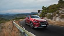 Der Mazda CX-3 hat seine Abmessungen nicht verändert
