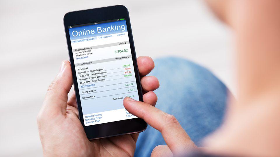Mobiles Banking wird immer verbreiteter