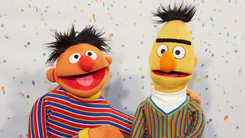 """Ernie und Bert sind bei den Zuschauern der """"Sesamstraße"""" sehr beliebt"""