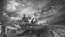 Immer mehr Boote bleiben an Land, weil die EU und japanische Flotten das Meer leerfischen