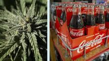 Coca-Cola wird bald Dope: Getränke-Hersteller plant Cannabis-Drinks