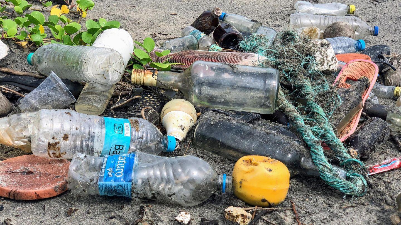 Müll am Strand