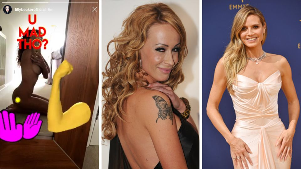 Lilly Becker, Cora Schumacher, Heidi Klum