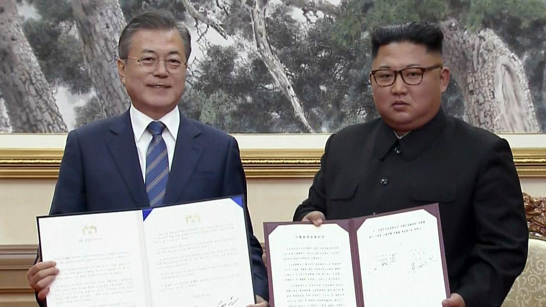 Gipfel zwischen Süd- und Nordkorea: Kim will Atomstätte schließen und Inspekteure zulassen - unter einer Bedingung