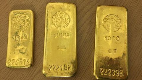Drei Goldbarren gefunden und diese zum Fundbüro gebracht