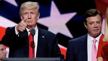 Trump und sein Ex-Wahlkampfmanager Manafort