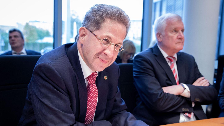 Hans-Georg Maaßen fällt weich: Nach seiner Absetzung als Chef des Verfassungsschutzes wird er Staatssekretär