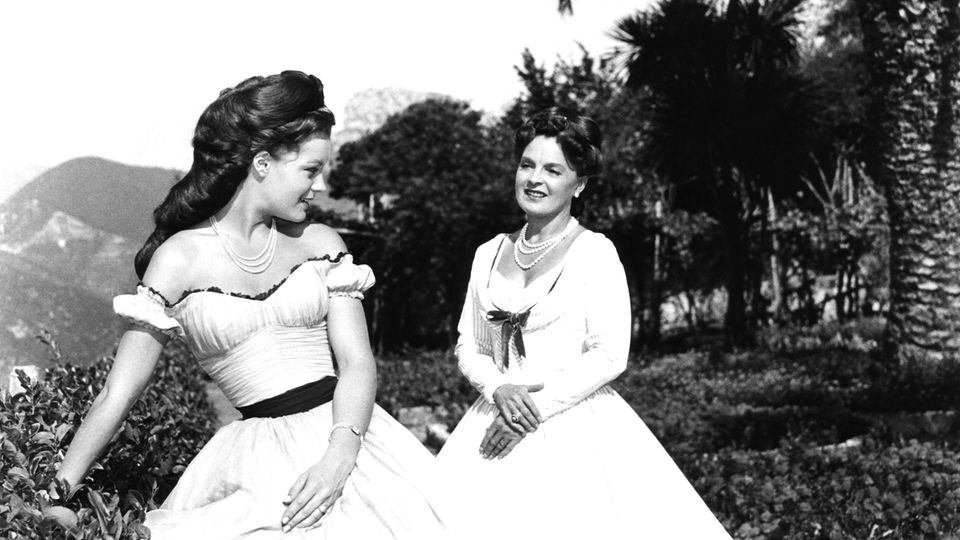 Romy Schneider und ihre Mutter Magda Schneider