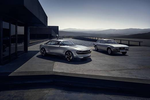 Peugeot e-Legend Concept 2018 - gestern trifft morgen