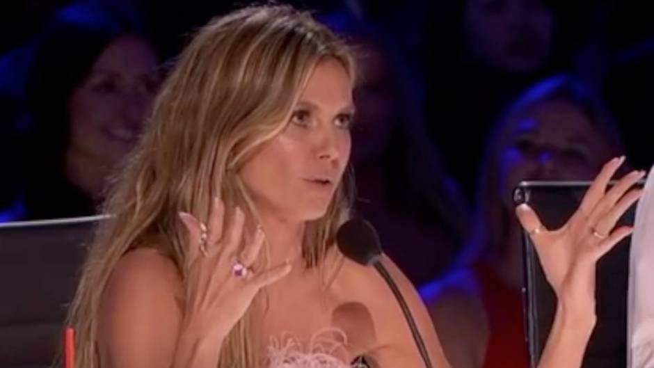 America's Got Talent: Anzüglicher Spruch: Heidi Klum schockiert amerikanische TV-Zuschauer