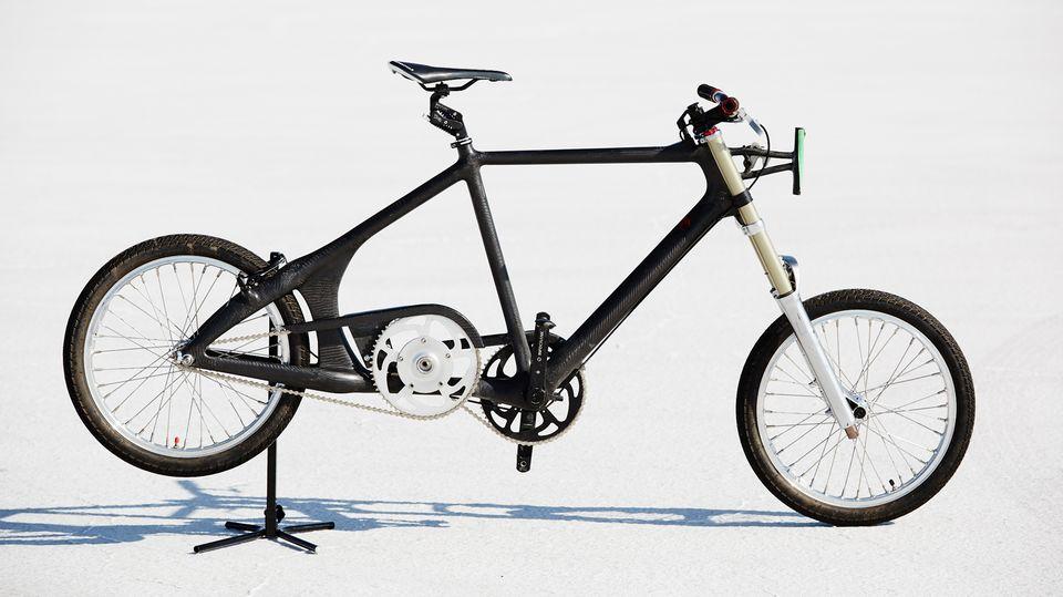 Das Weltrekord-Fahrrad von Denise Mueller-Korenek