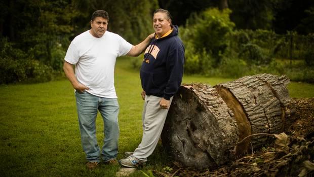 Anthony Torres (r.) und sein Bruder Thomas
