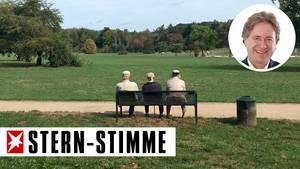 Das Bank-Trio,Frank Behrendts Spazierbekanntschaft
