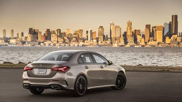 Mercedes A 220 4matic - wird in Mexiko produziert; später auch in Rastatt