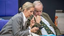 Die AfD-Vorsitzenden Alice Weidel und Alexander Gauland