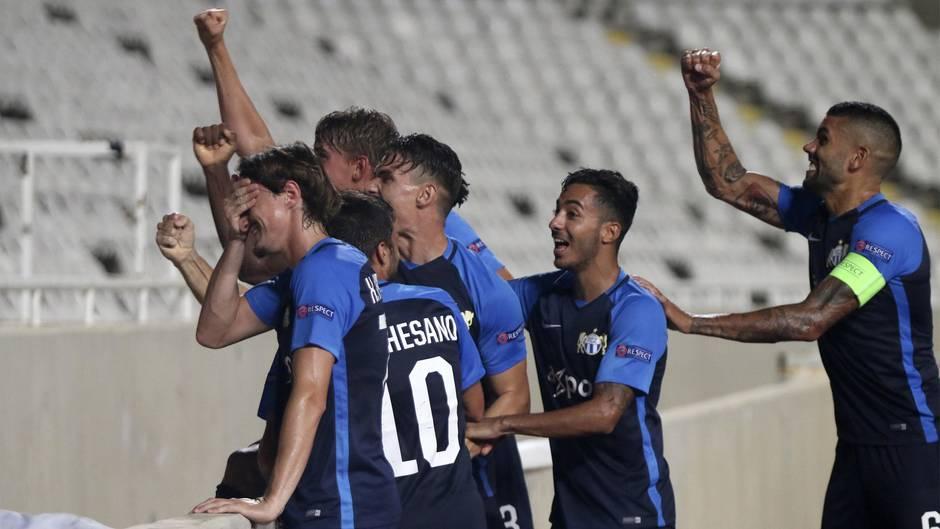 Die Teamkollegen von Denis Kololli vom FC Zürich nahmen es mit Humor