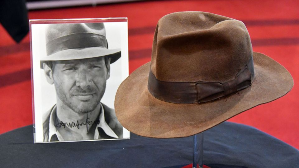 Hut Indiana Jones Harrison Ford
