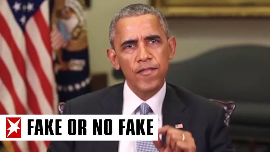 """""""Fake or No Fake"""": """"Vollidiot"""": Beschimpft Obama hier Trump oder ist dieses Video eine dreiste Fälschung?"""