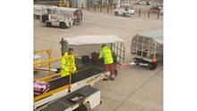 Szene am Manchester Airport