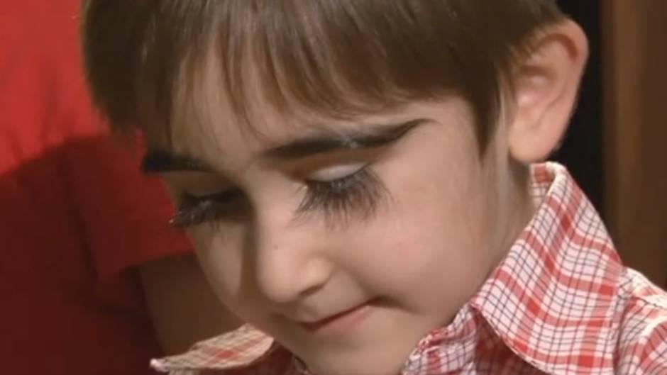 Der 11-jährige Muin Bachonaev aus Russland