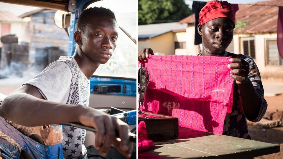"""Flüchtlinge aus Afrika: """"Über das Meer wollen nur die, die überhaupt nichts zu verlieren haben"""""""