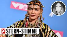 Sängerin Madonna bei den MTV Video Music Awards. Zur Fashion Week in London schaute sie bei Designerin Stella McCartney vorbei.