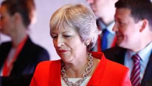 """Britische Premierministerin May sieht Brexit-Verhandlungen """"in einer Sackgasse"""""""