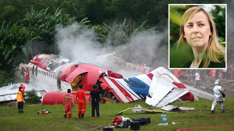Flugzeugabsturz Eine Frau überlebt Danach Beginnt Ihr Wahres