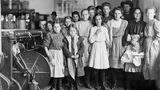 Maud Cheek gehörte zu den jüngsten Arbeiterinnenin der Drayton Mill, Spartenberg, South Carolina.